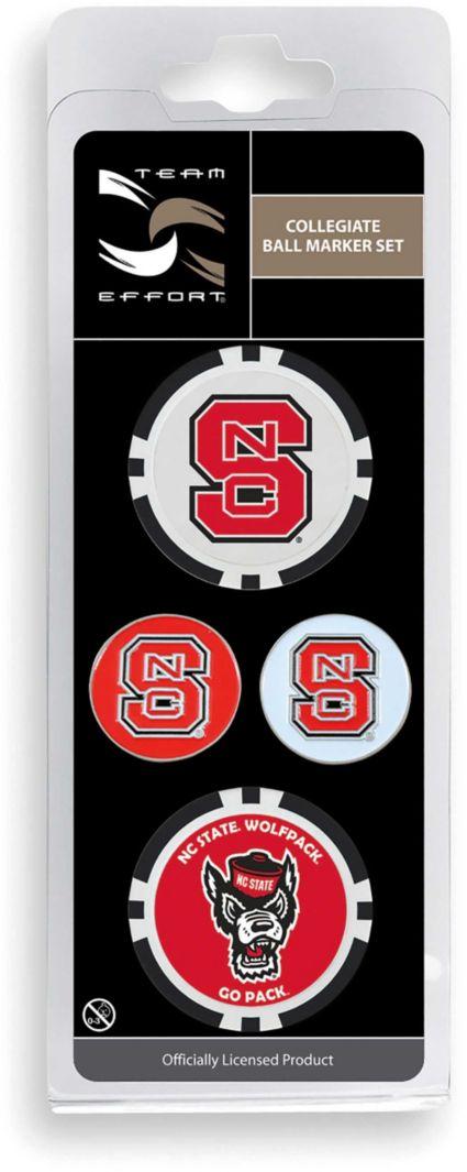 Team Effort NC State Wolfpack Ball Marker Set