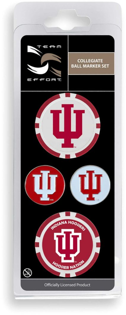 Team Effort Indiana Hoosiers Ball Marker Set