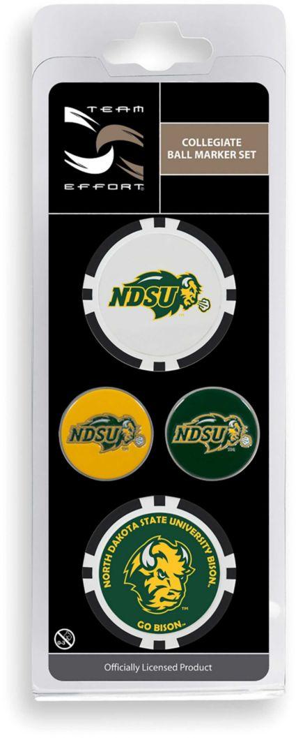 Team Effort North Dakota State Bison Ball Marker Set