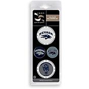 Team Effort Nevada Wolf Pack Ball Marker Set