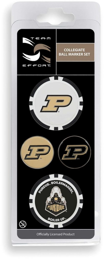 Team Effort Purdue Boilermakers Ball Marker Set