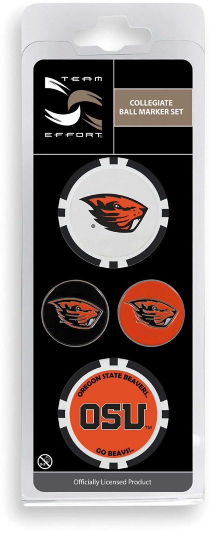 Team Effort Oregon State Beavers Ball Marker Set