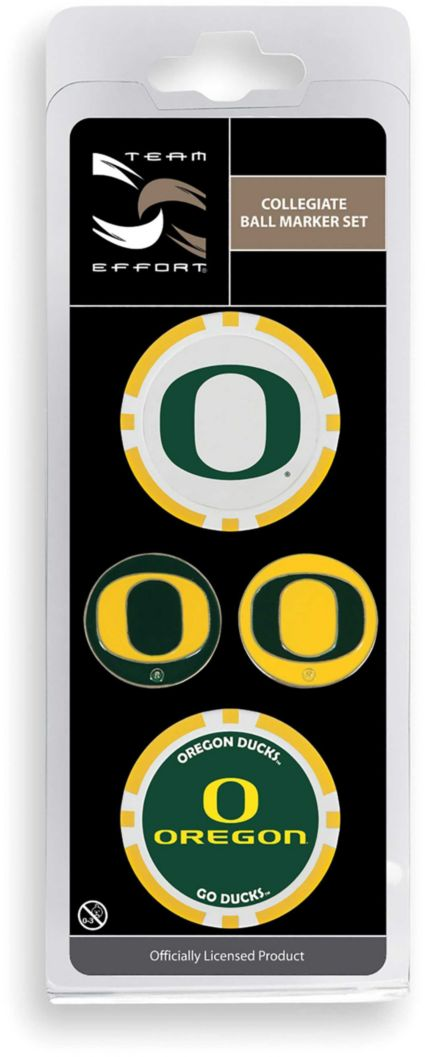 Team Effort Oregon Ducks Ball Marker Set