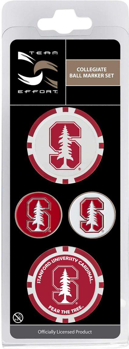Team Effort Stanford Cardinal Ball Marker Set