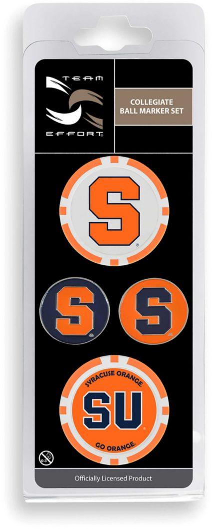 Team Effort Syracuse Orange Ball Marker Set