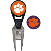 Team Effort Clemson Tigers CVX Divot Tool and Ball Marker Set