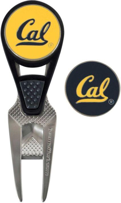 Team Effort Cal Golden Bears CVX Divot Tool and Ball Marker Set