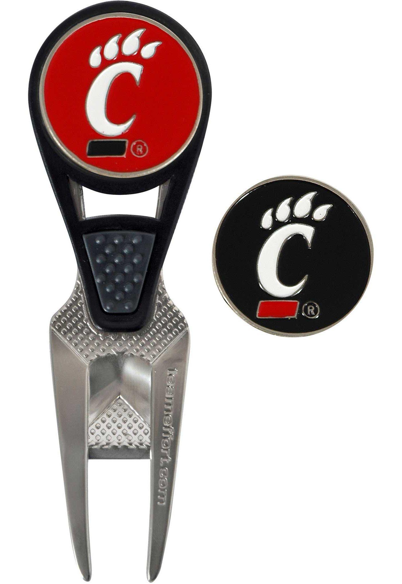Team Effort Cincinnati Bearcats CVX Divot Tool and Ball Marker Set