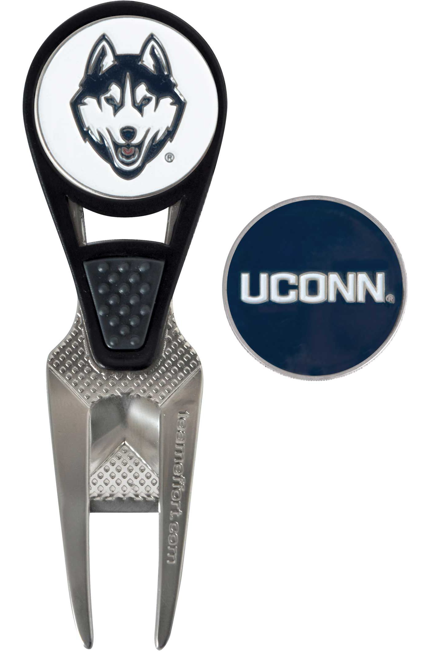 Team Effort UConn Huskies CVX Divot Tool and Ball Marker Set