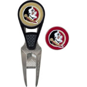 Team Effort Florida State Seminoles CVX Divot Tool and Ball Marker Set
