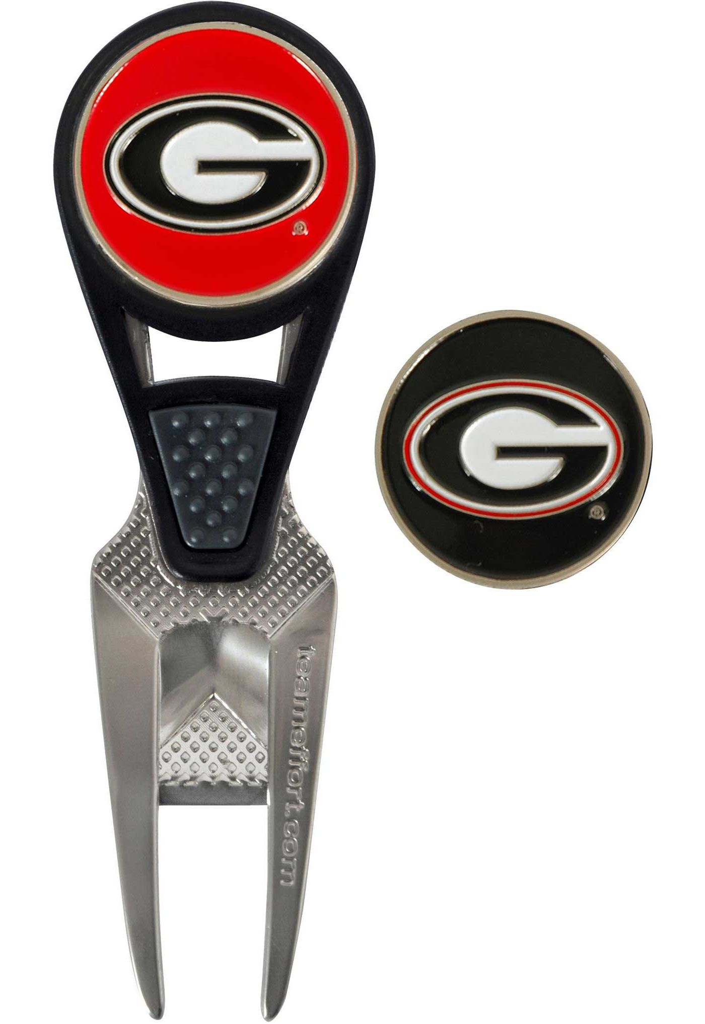 Team Effort Georgia Bulldogs CVX Divot Tool and Ball Marker Set