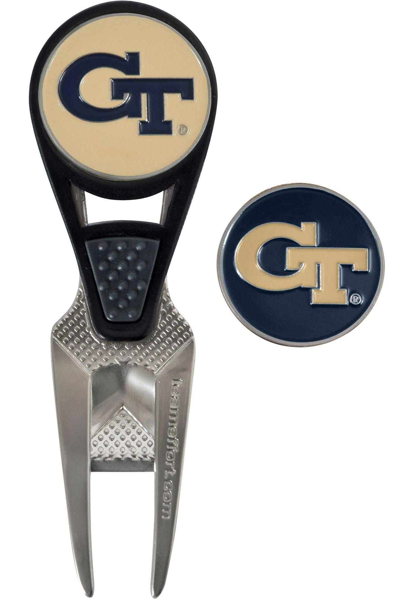 Team Effort Georgia Tech Yellow Jackets CVX Divot Tool and Ball Marker Set