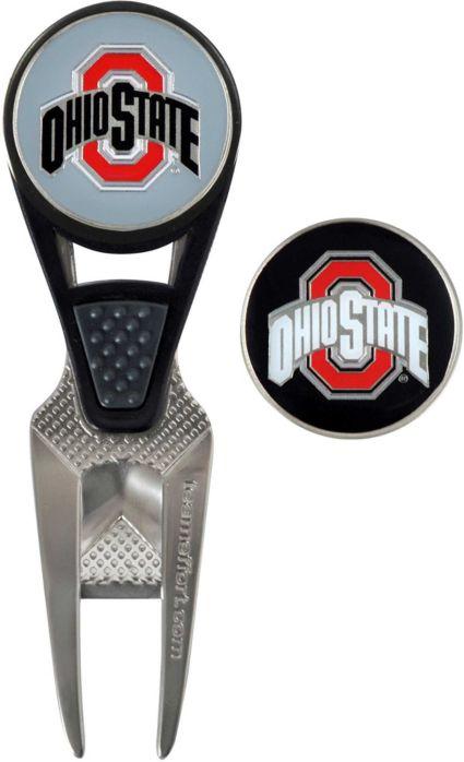 Team Effort Ohio State Buckeyes CVX Divot Tool and Ball Marker Set