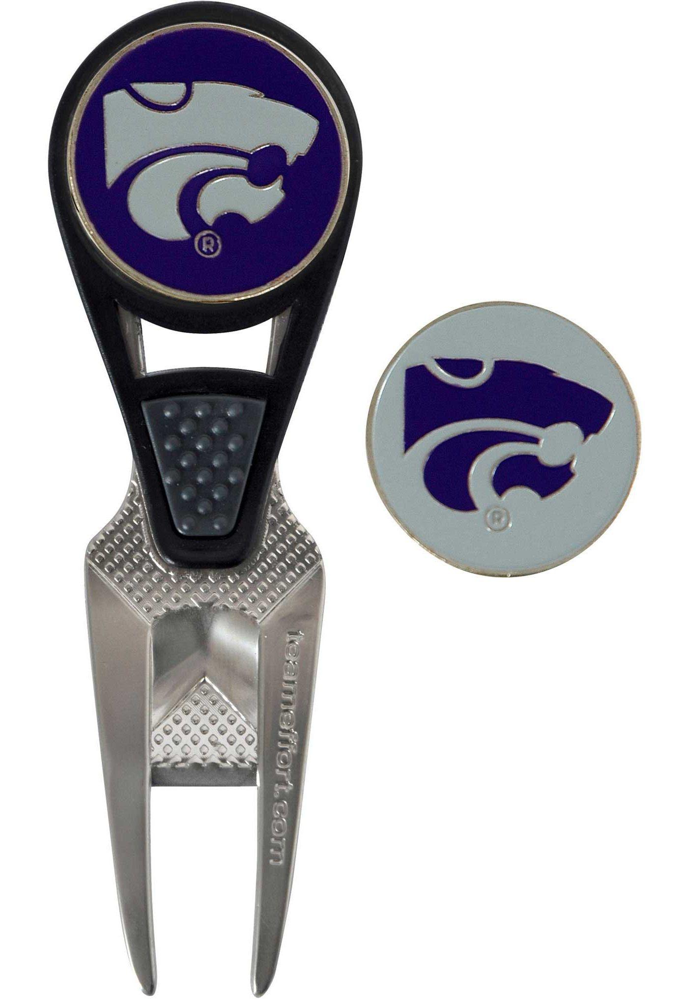 Team Effort Kansas State Wildcats CVX Divot Tool and Ball Marker Set