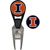 Team Effort Illinois Fighting Illini CVX Divot Tool and Ball Marker Set