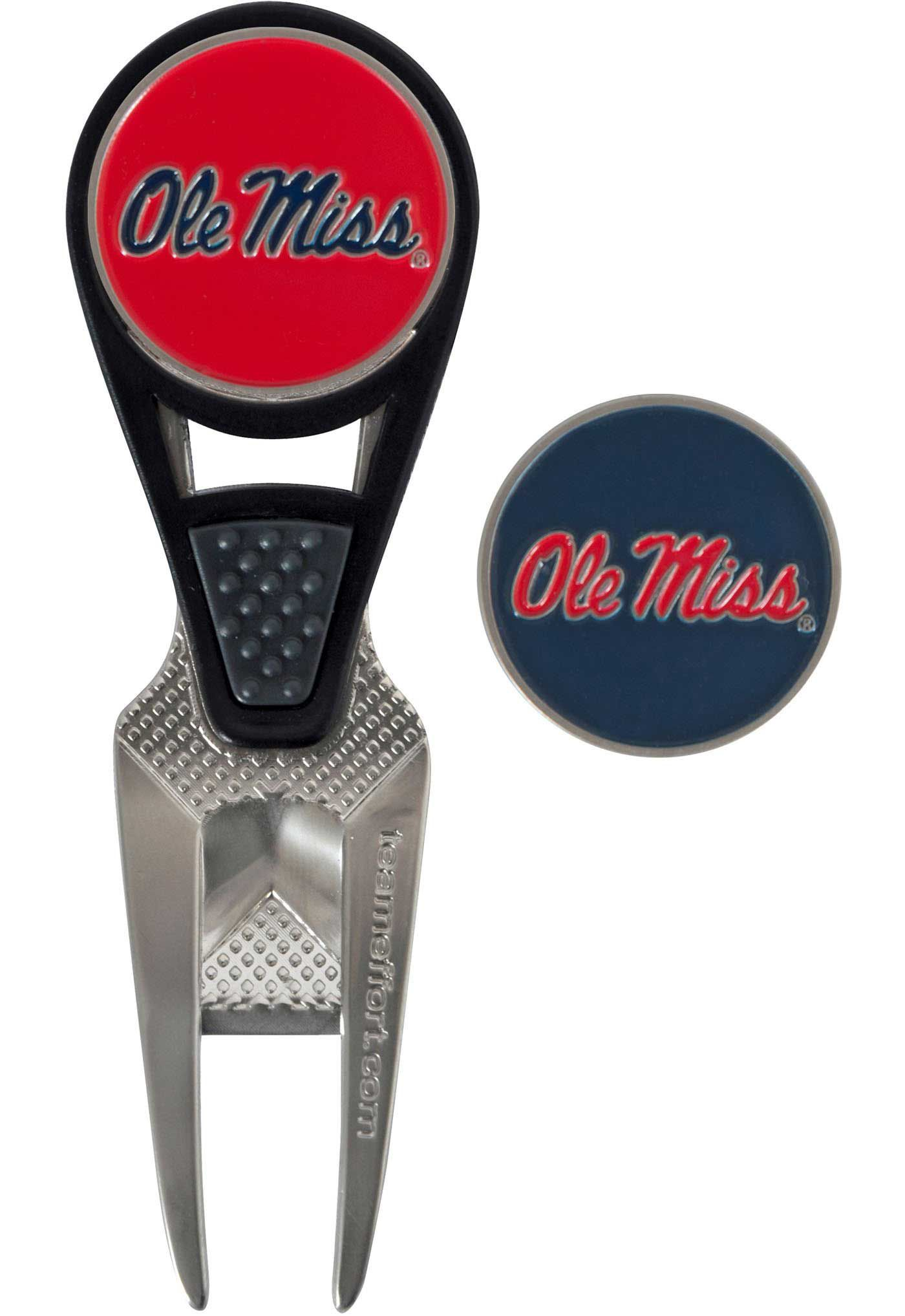 Team Effort Ole Miss Rebels CVX Divot Tool and Ball Marker Set
