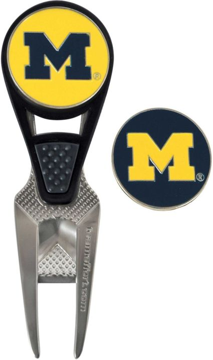 Team Effort Michigan Wolverines CVX Divot Tool and Ball Marker Set