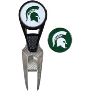 Team Effort Michigan State Spartans CVX Divot Tool and Ball Marker Set