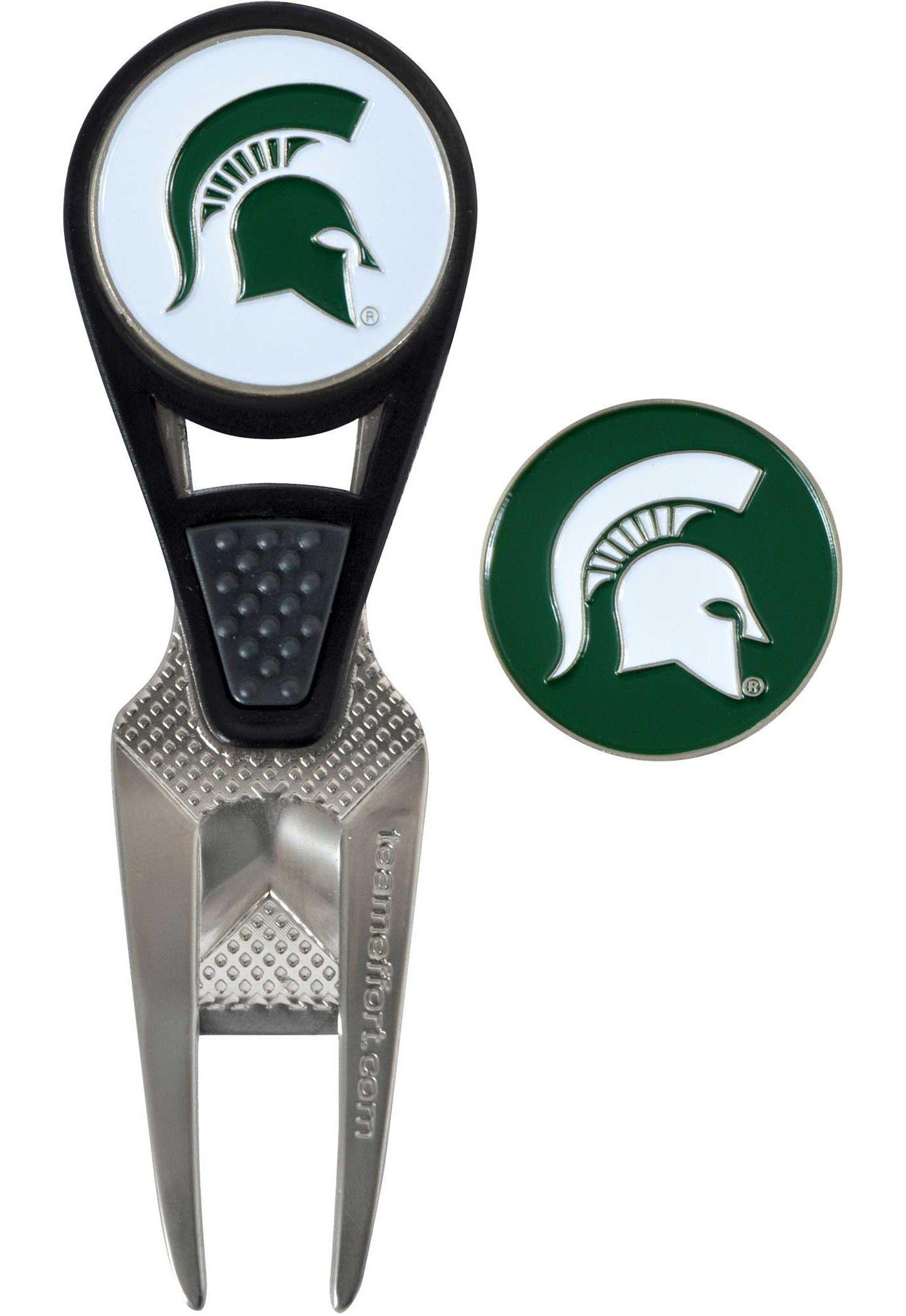 Team Effort Michigan State Spartans CVX Divot Tool and Ball Marker Set
