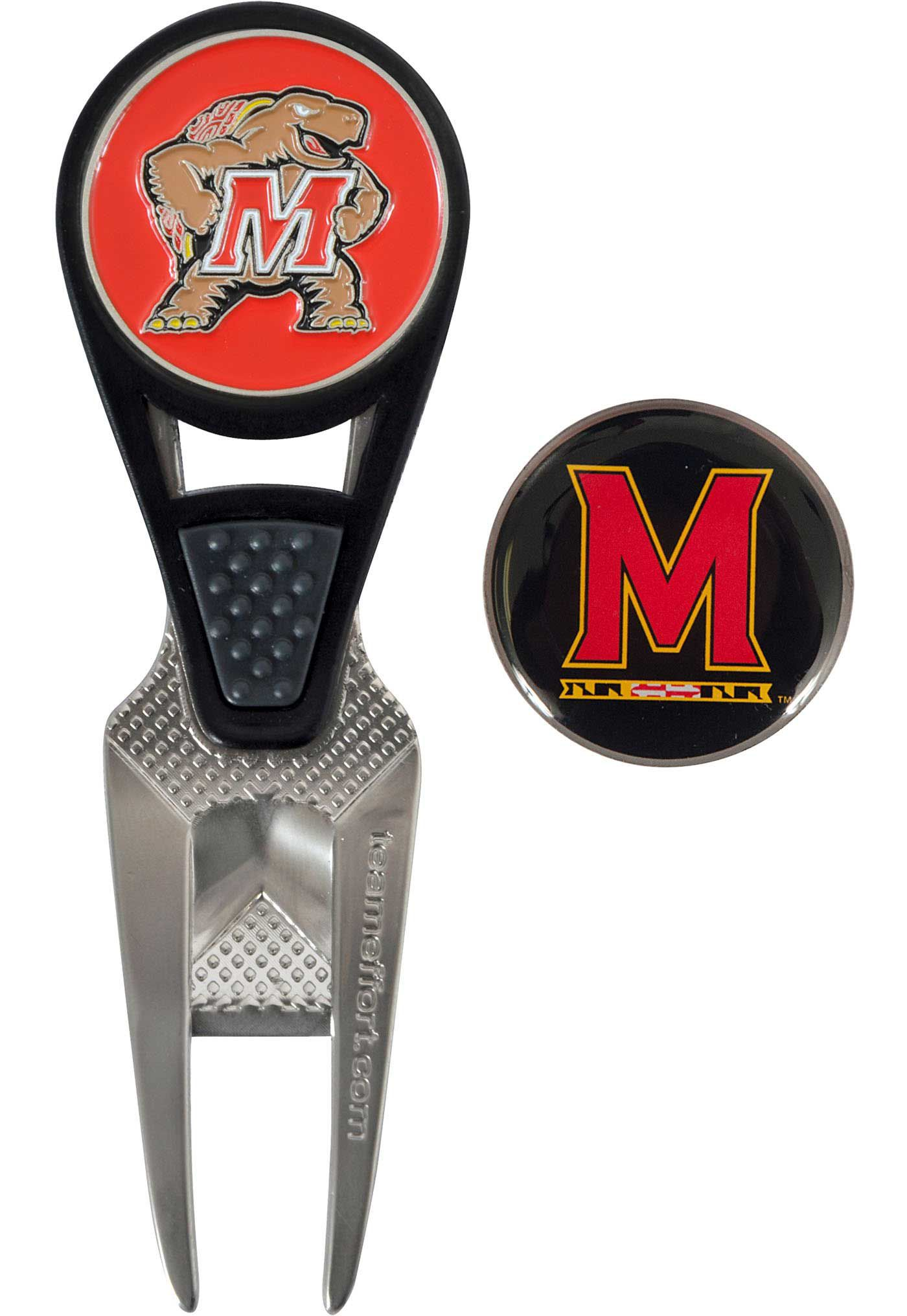 Team Effort Maryland Terrapins CVX Divot Tool and Ball Marker Set