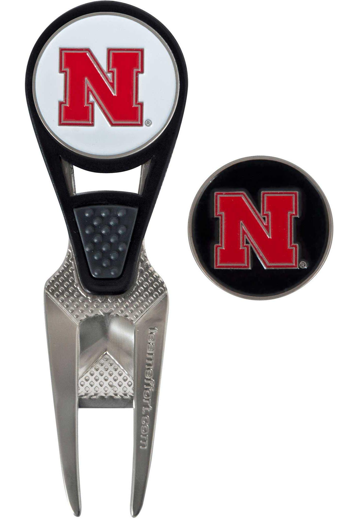 Team Effort Nebraska Cornhuskers CVX Divot Tool and Ball Marker Set