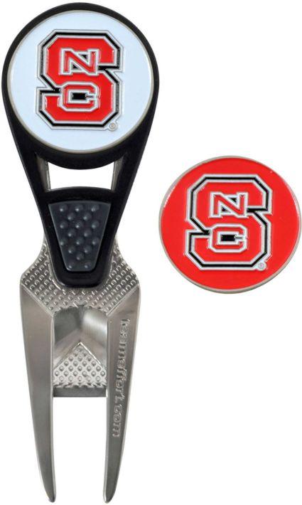 Team Effort NC State Wolfpack CVX Divot Tool and Ball Marker Set