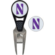 Team Effort Northwestern Wildcats CVX Divot Tool and Ball Marker Set