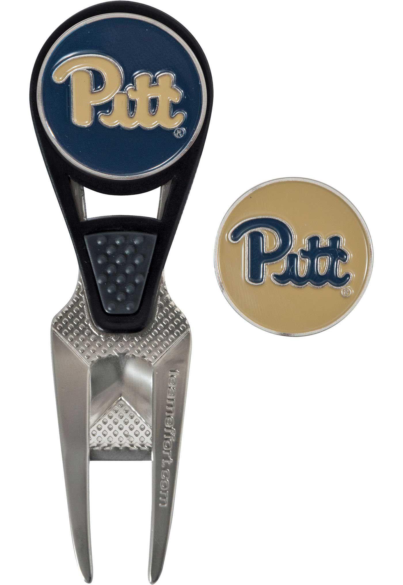 Team Effort Pitt Panthers CVX Divot Tool and Ball Marker Set