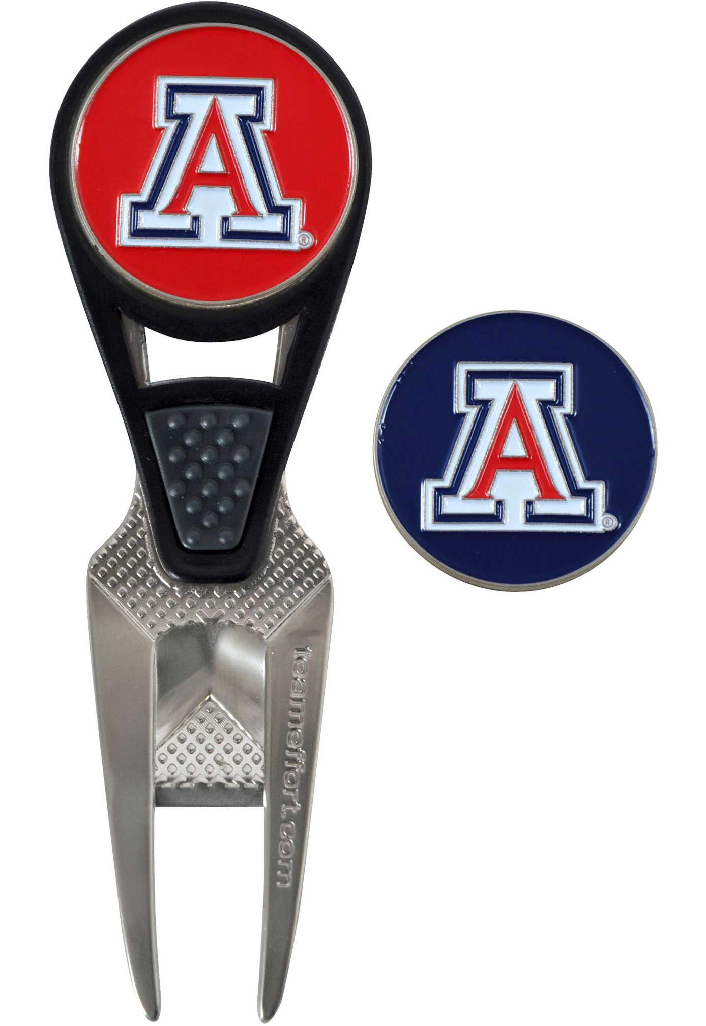 Team Effort Arizona Wildcats CVX Divot Tool and Ball Marker Set