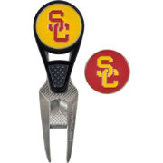 Team Effort USC Trojans CVX Divot Tool and Ball Marker Set