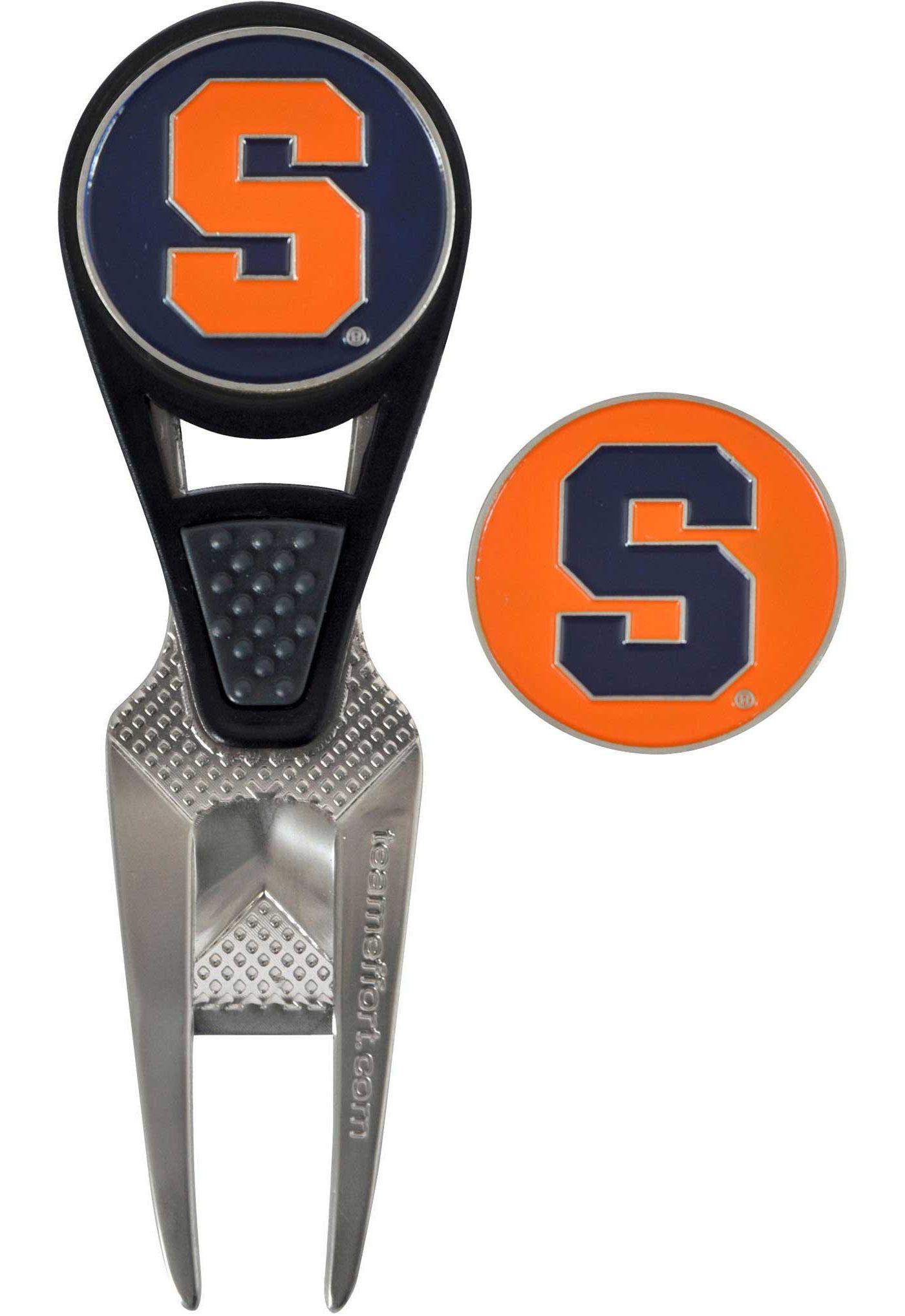 Team Effort Syracuse Orange CVX Divot Tool and Ball Marker Set