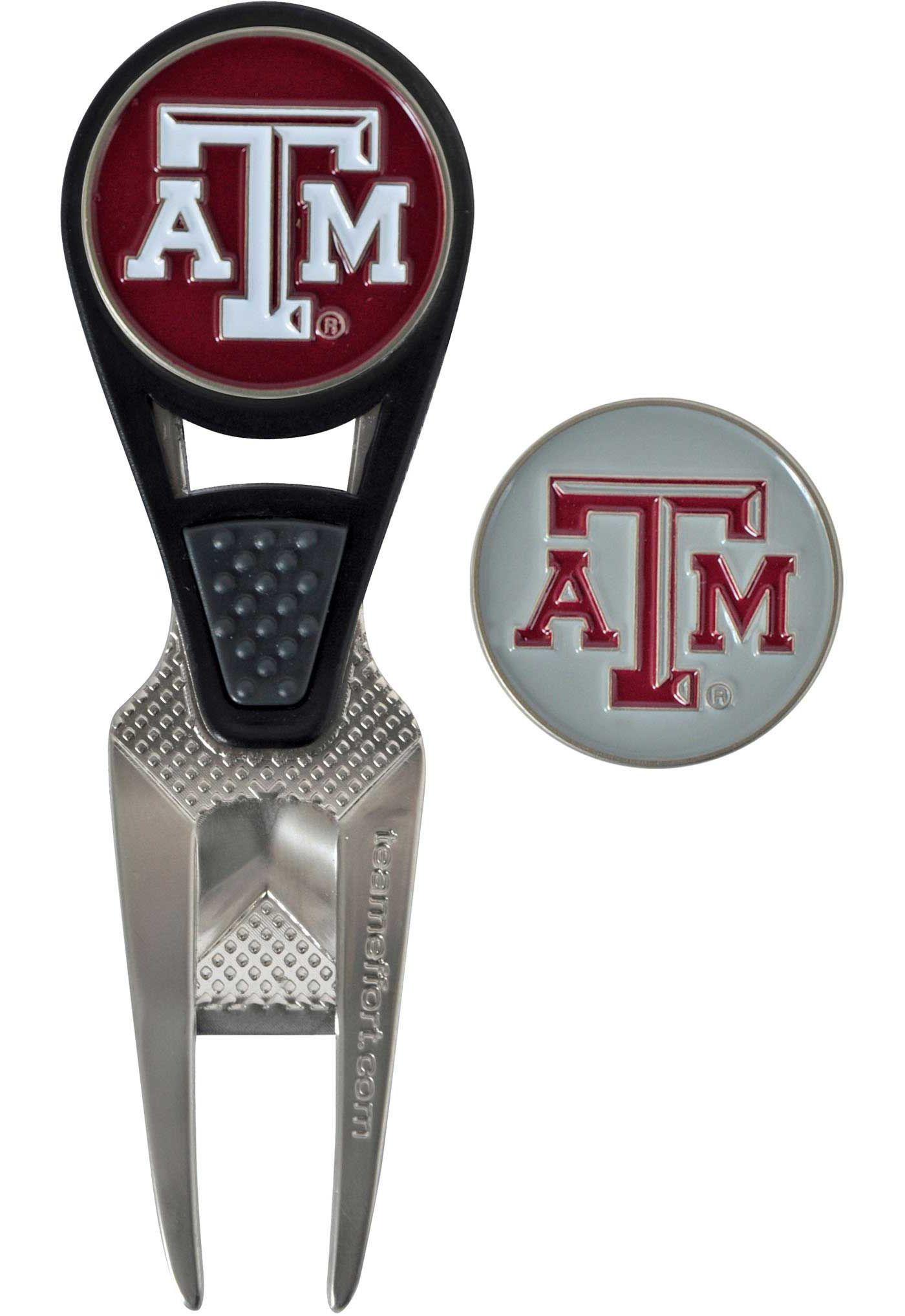 Team Effort Texas A&M Aggies CVX Divot Tool and Ball Marker Set
