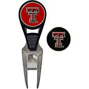 Team Effort Texas Tech Red Raiders CVX Divot Tool and Ball Marker Set