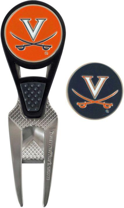 Team Effort Virginia Cavaliers CVX Divot Tool and Ball Marker Set