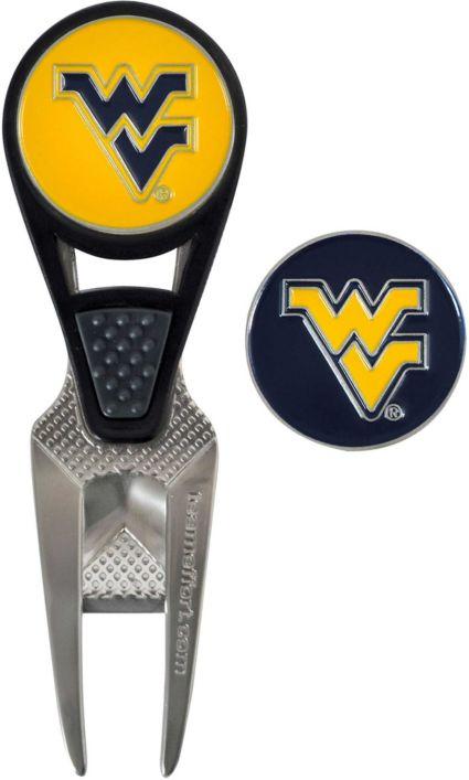 Team Effort West Virginia Mountaineers CVX Divot Tool and Ball Marker Set