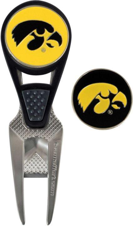 Team Effort Iowa Hawkeyes CVX Divot Tool and Ball Marker Set
