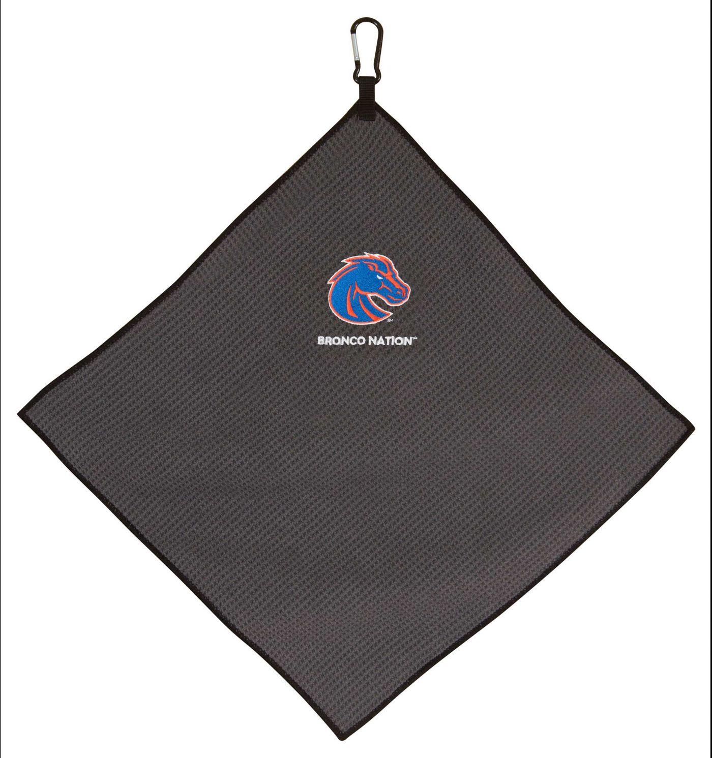 "Team Effort Boise State Broncos 15"" x 15"" Microfiber Golf Towel"