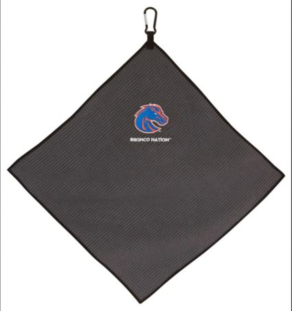 "Team Effort Boise State Broncos 15"" x 15"" Microfiber Golf Towel"