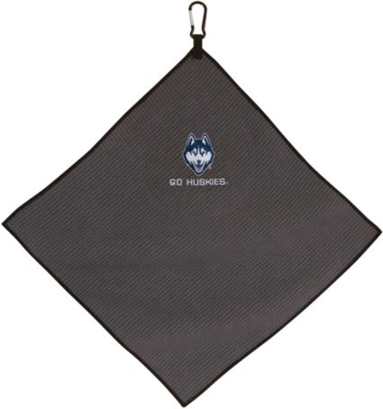 "Team Effort UConn Huskies 15"" x 15"" Microfiber Golf Towel"