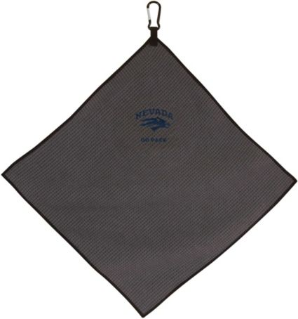 "Team Effort Nevada Wolf Pack 15"" x 15"" Microfiber Golf Towel"