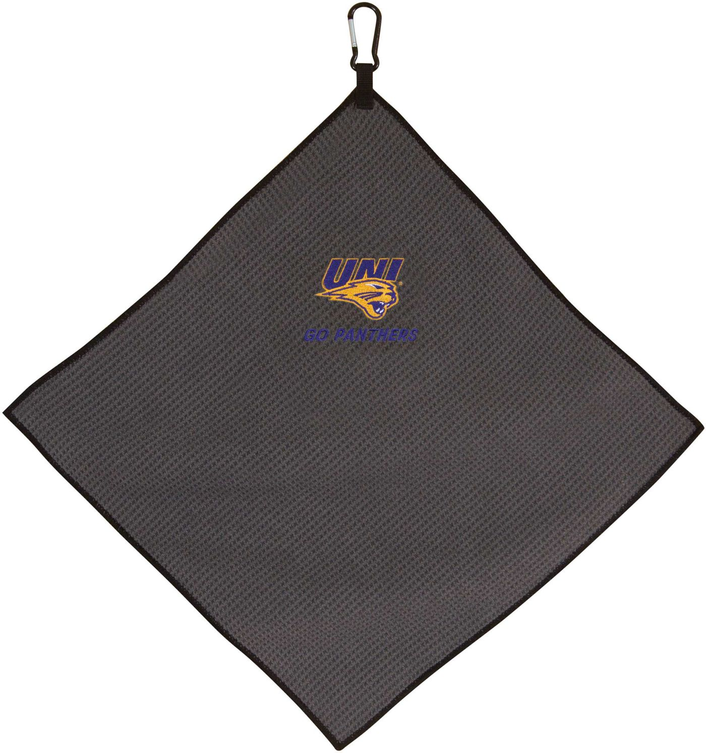 "Team Effort Northern Iowa Panthers 15"" x 15"" Microfiber Golf Towel"