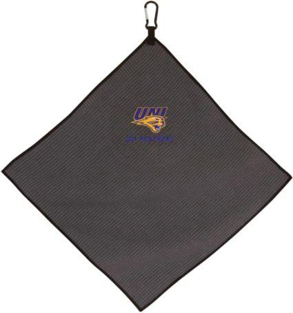 "Team Effort Northern Iowa Panthers 15"" x 15"" Microfiber Golf Towel"