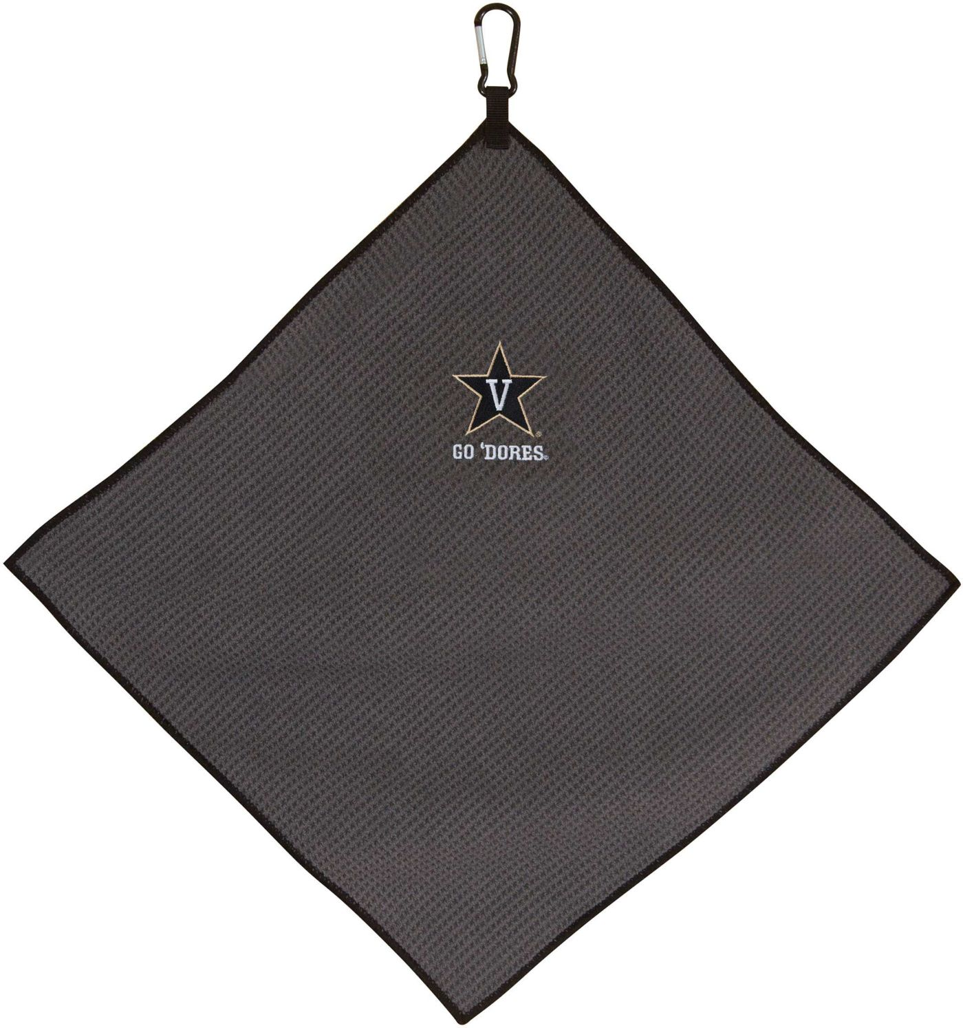 "Team Effort Vanderbilt Commodores 15"" x 15"" Microfiber Golf Towel"