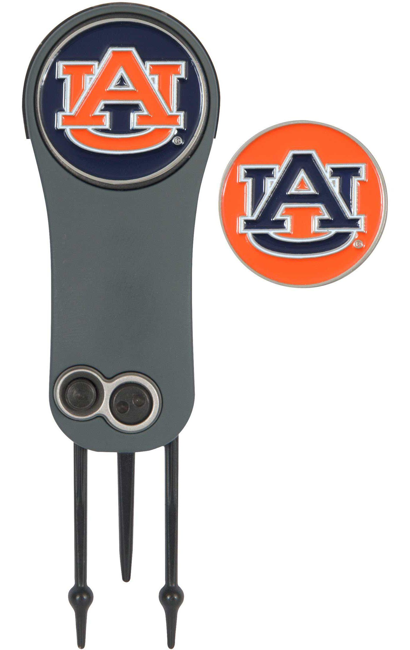 Team Effort Auburn Tigers Switchblade Divot Tool and Ball Marker Set