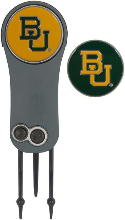 Team Effort Baylor Bears Switchblade Divot Tool and Ball Marker Set