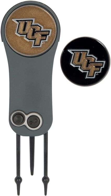 Team Effort UCF Knights Switchblade Divot Tool and Ball Marker Set