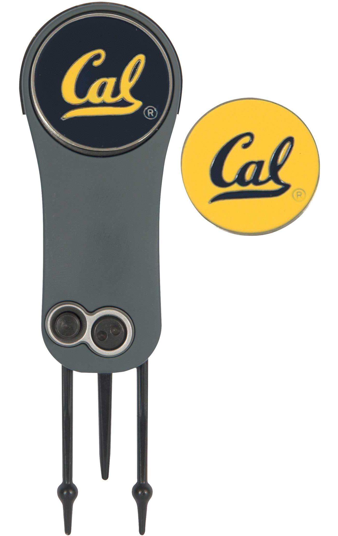 Team Effort Cal Golden Bears Switchblade Divot Tool and Ball Marker Set