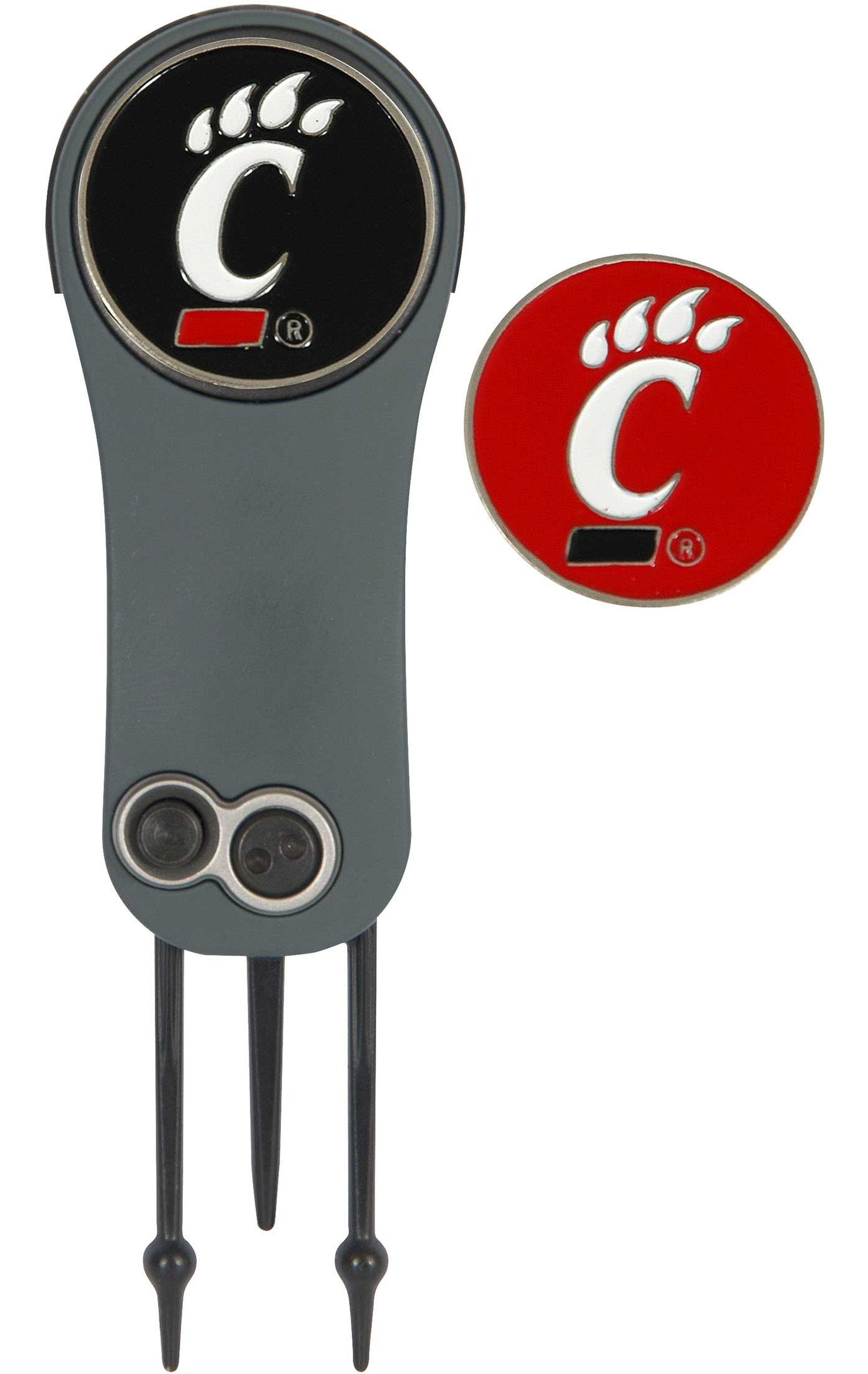 Team Effort Cincinnati Bearcats Switchblade Divot Tool and Ball Marker Set