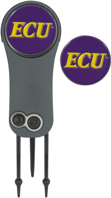 Team Effort East Carolina Pirates Switchblade Divot Tool and Ball Marker Set