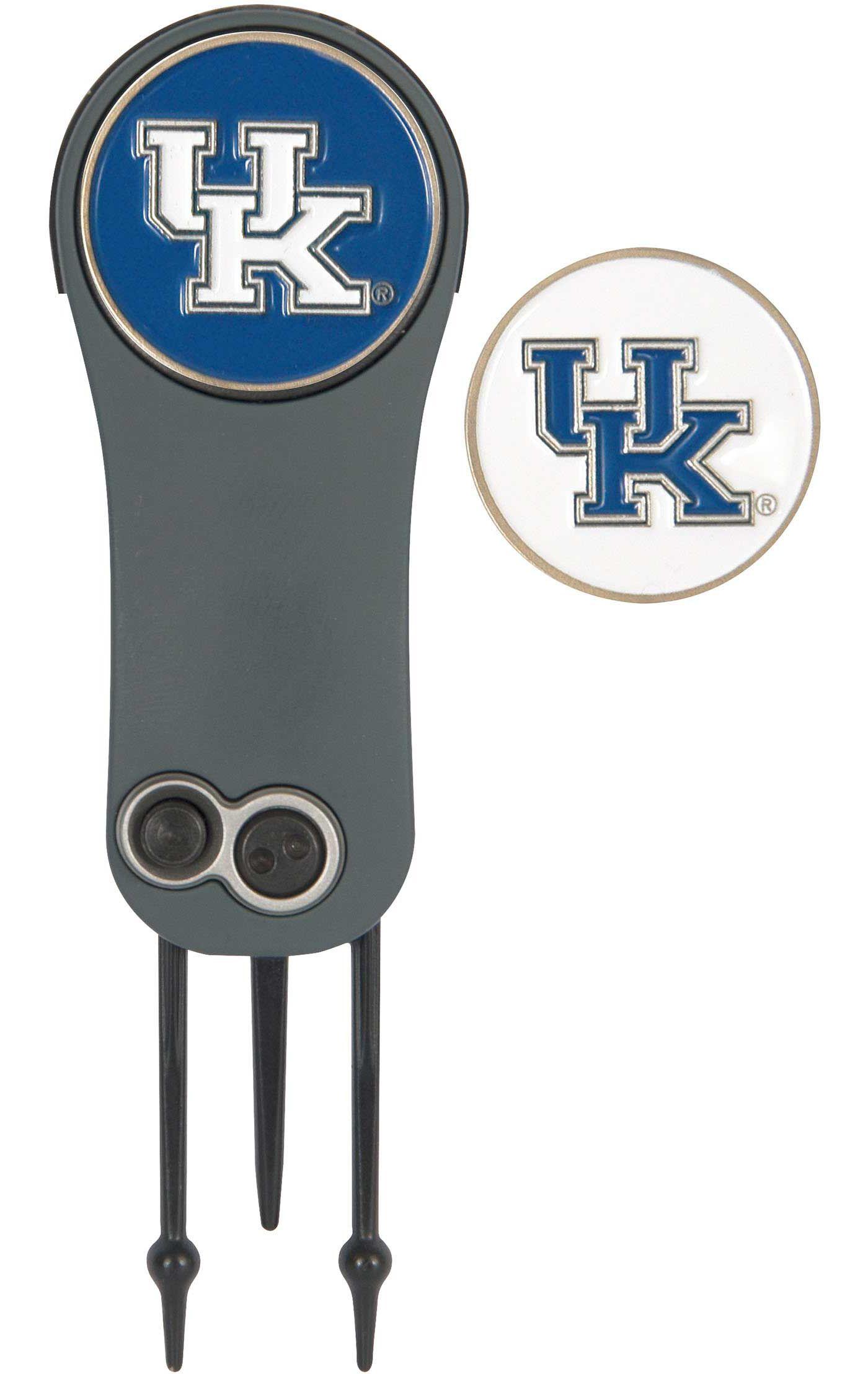 Team Effort Kentucky Wildcats Switchblade Divot Tool and Ball Marker Set